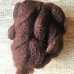 Needle felted wool felting tan wool Roving for felting supplies short fabric easy felt