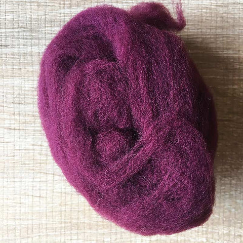 Needle felted wool felting wine wool Roving for felting supplies short fabric easy felt