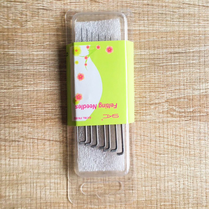 Needle felting 6 needles felt kit for beginners starters needle felt tools supplies