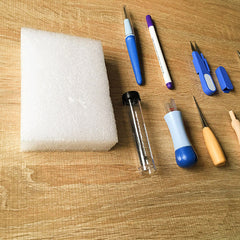 Needle felting felt kit for beginners advanced needle felt tools supplies felt needles