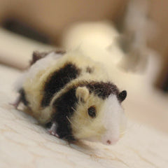 Needle Felted Felting project Animals Guinea Pig Cute Craft