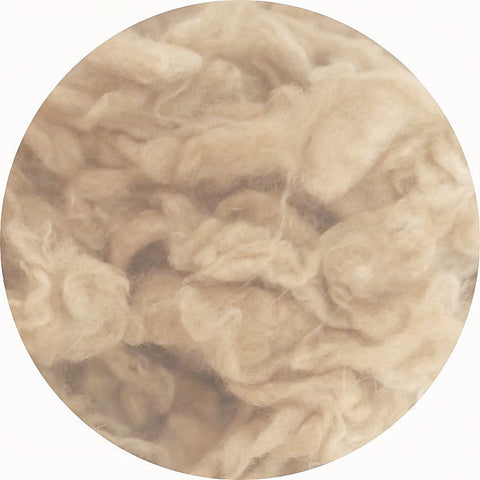 Needle felting 10g Light Coffee wool Curly Wool Curly Fiber for Wool Felt for Poodle Bichon and Sheep