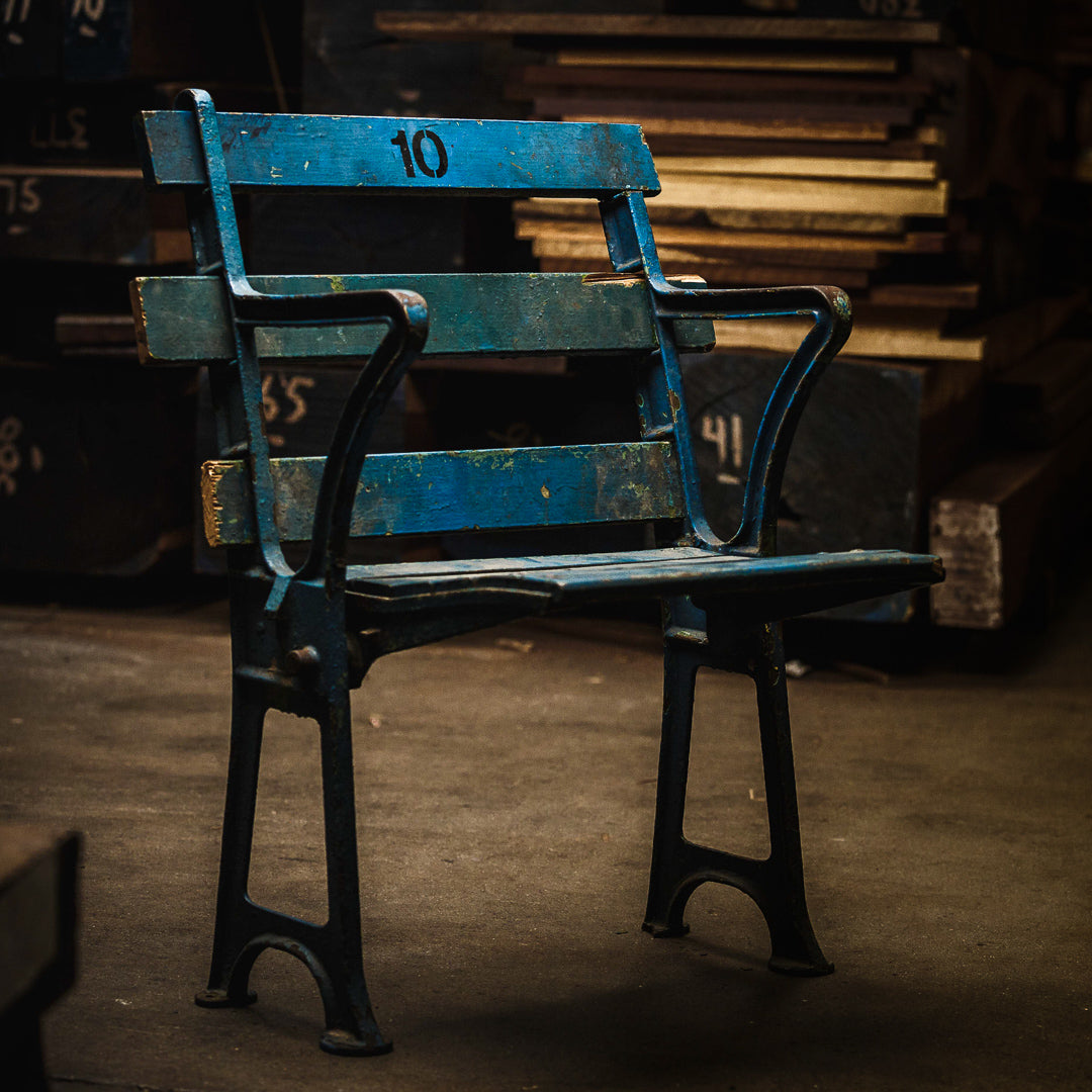 THE SEAT. Made With Reclaimed 1923 New York Yankee ...