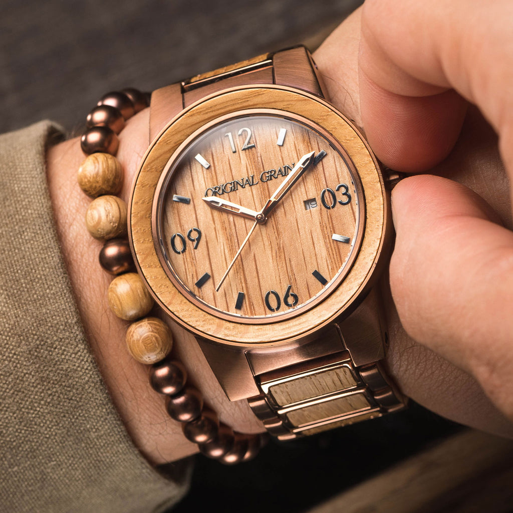 authentic and quality watch handcrafted steel american oak watches whiskey from pin barrels the espresso