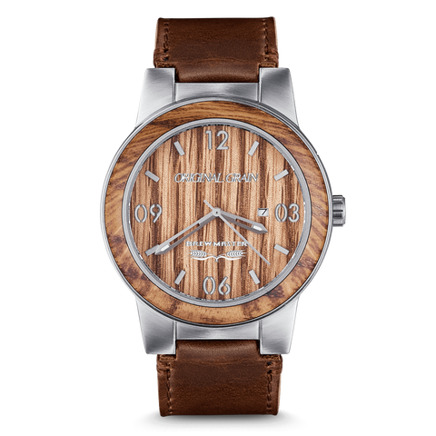Brewmaster Barrel 47mm Leather