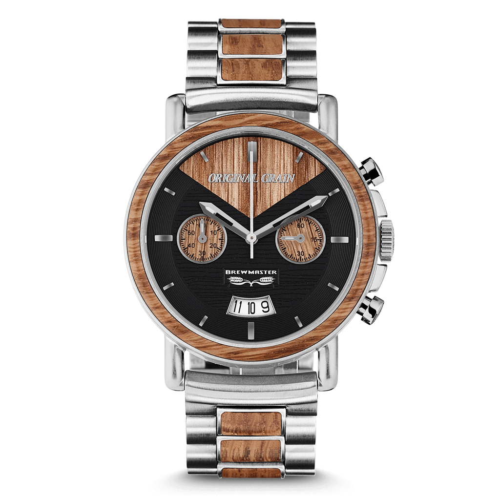 in galaxy woodgrain wood automatic grain watches lunar eclipse darksandalwood black blue products sandalwood series mm