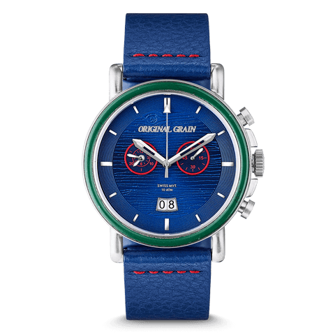 The Wrigley Field™ Leather Chrono