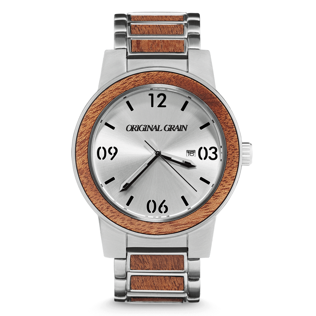 Mahogany Silver Barrel 47mm