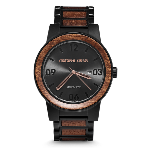 Automatic Sapele / Black Barrel