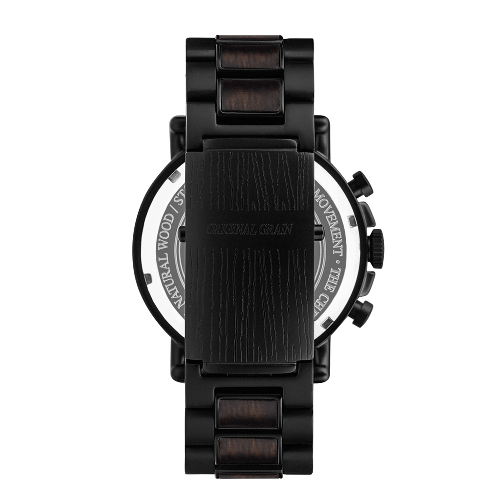 Chrono Ebony / Black Steel