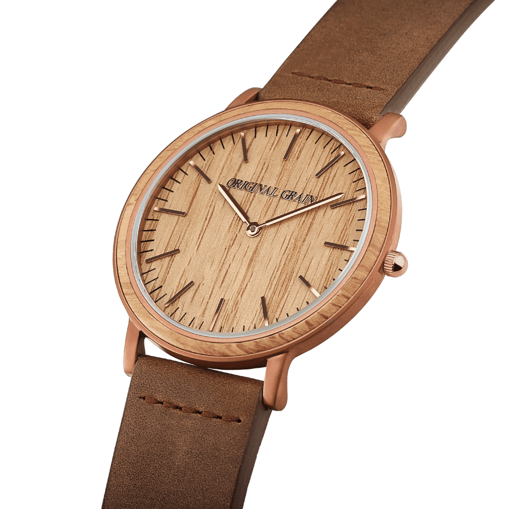 grain whiskey original espresso by barrel products watches