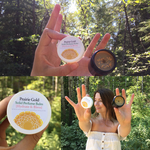 Prairie Gold -Solid Perfume Balm- Hydrate and Bless