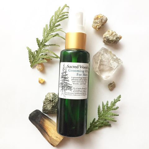 Sacred Woods - Men's Grooming Oil