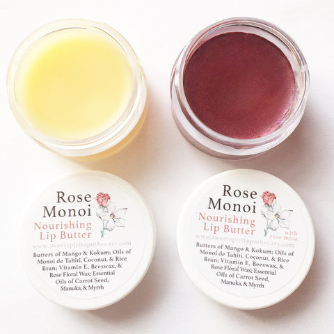 Rose Monoi Nourishing Lip Butter