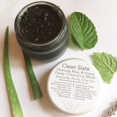 Clean Slate- Deep Detox Charcoal Mask