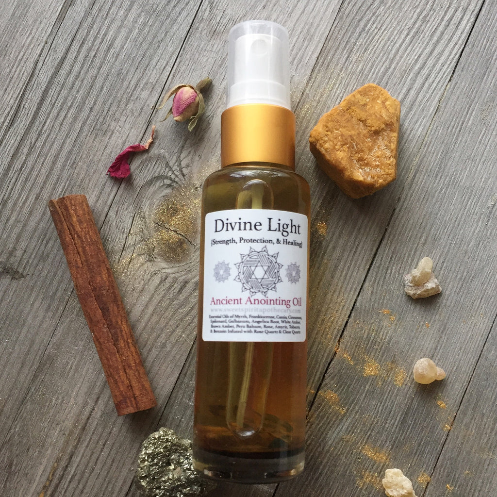 Divine Light - Ancient Annointing/Meditation Oil