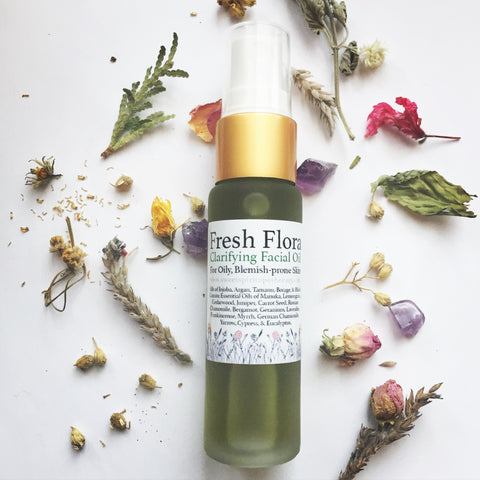 Fresh Flora Facial Oil - for oily/blemish prone skin