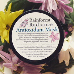 Rainforest Radiance - Antioxidant Mask