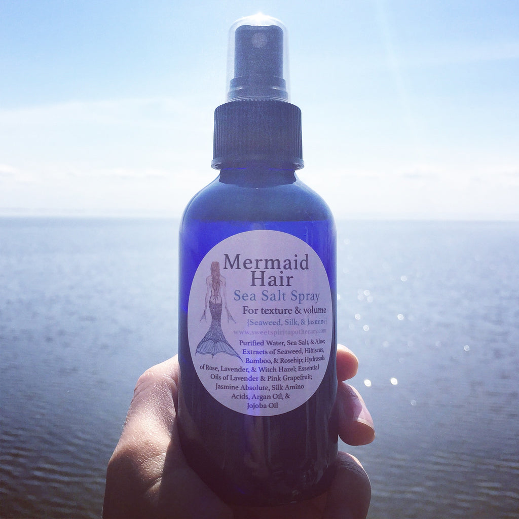 Mermaid Hair - Sea Salt Spray (with silk and seaweed)