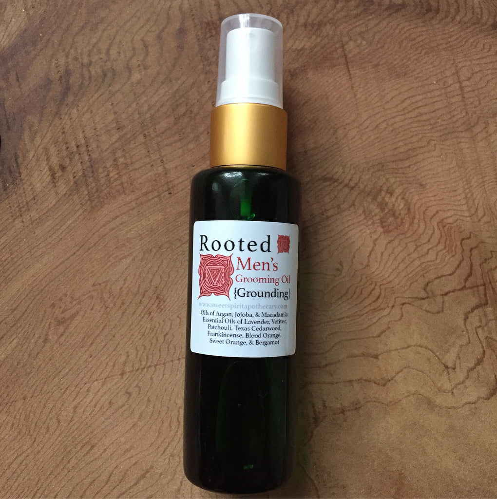 Rooted-Men's Grooming Oil