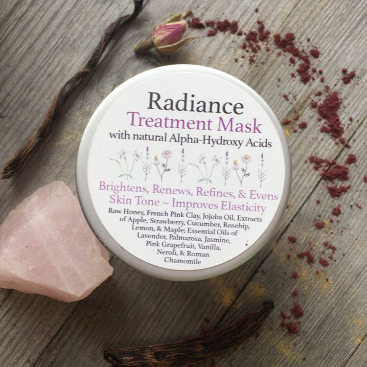 Radiance Treatment Mask - with natural alpha hydroxy acid
