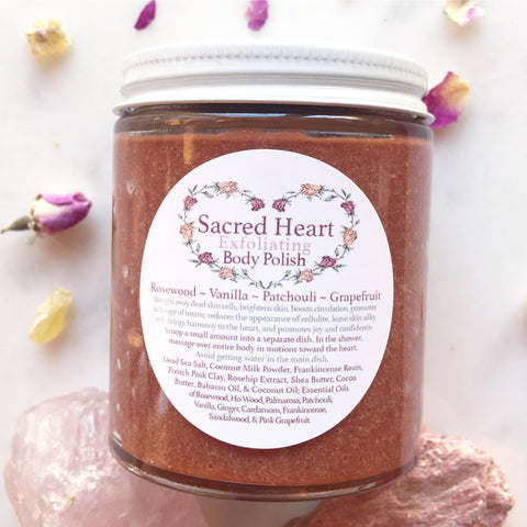 Sacred Heart~ Exfoliating Body Polish