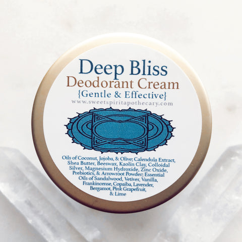 Deep Bliss~Deodorant Cream