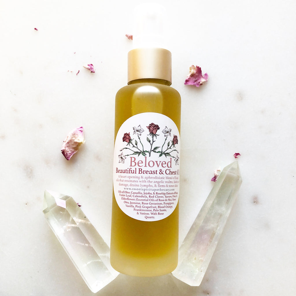 Beloved~ Beautiful Breast and Chest Oil