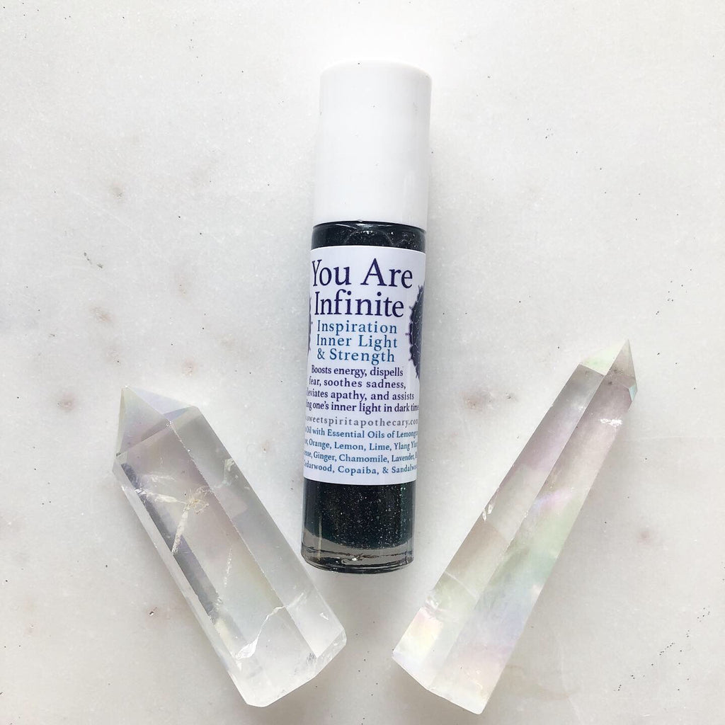 You Are Infinite~Ritual Aromatherapy Roller~inspiration, inner light, and strength