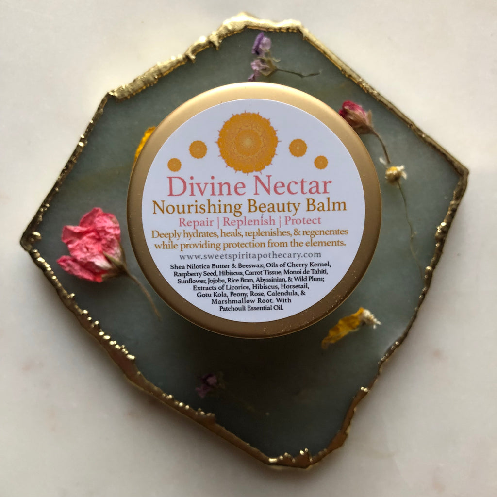Divine Nectar~Nourishing Beauty Balm for Face~Repair, Replenish, and Protect