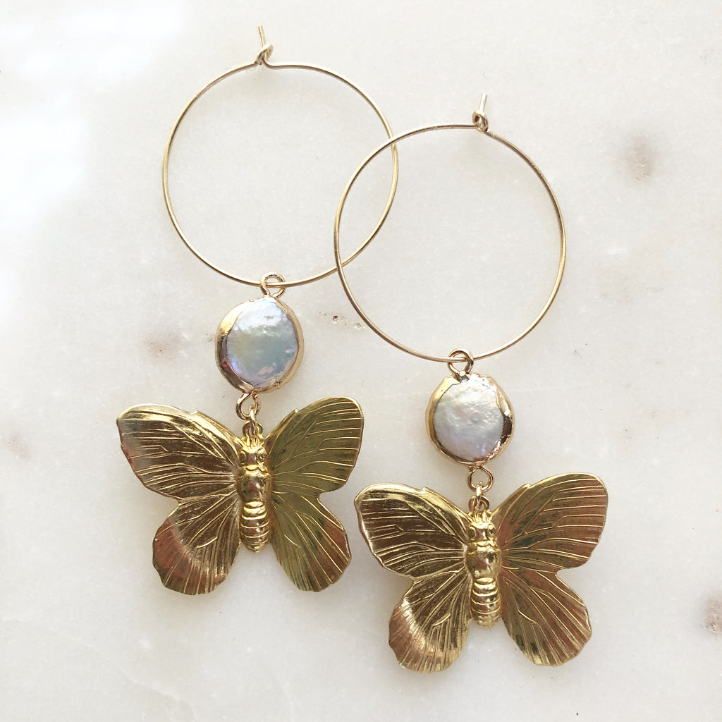 Metamorphosis Magic~ Hoop Earrings