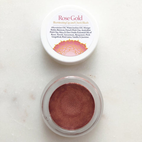 Rose Gold Illuminating Lip and Cheek Blush
