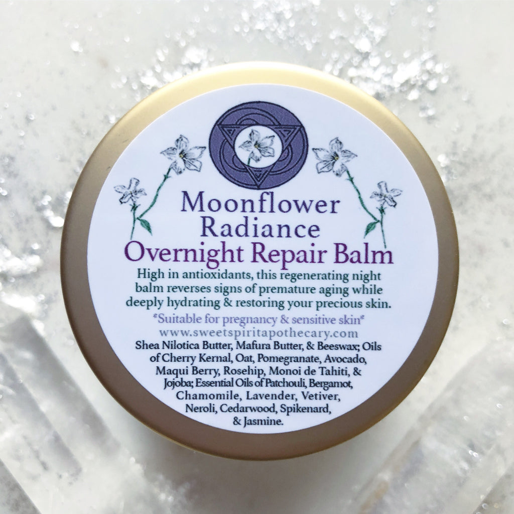 Moonflower Radiance~ Overnight Repair Balm