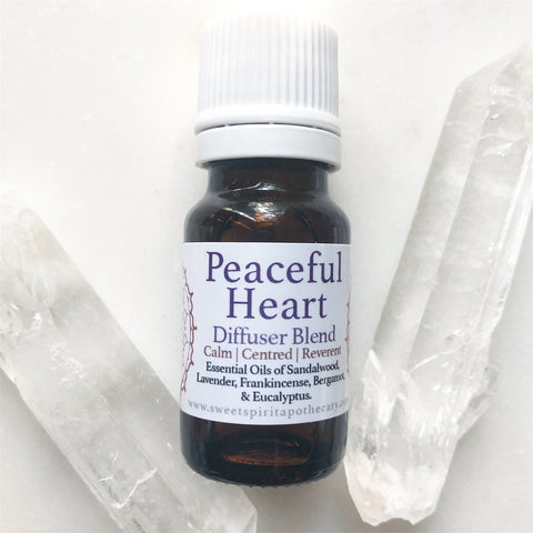 Peaceful Heart~💗~Diffuser Blend~ For relaxation and creating a sacred space
