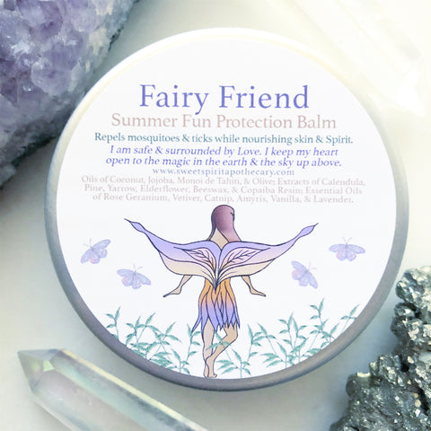 Fairy Friend~ Summer Fun Protection Balm (mosquito repellent for kids!)