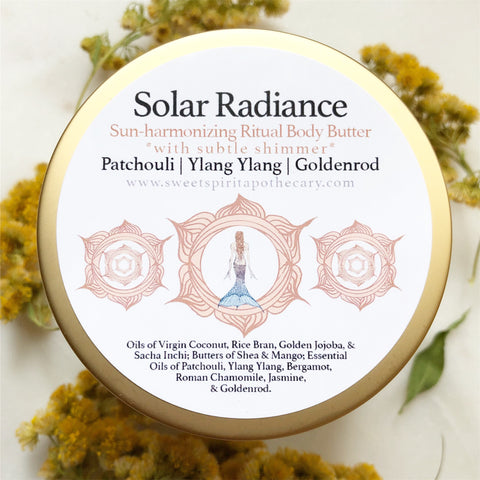 Solar Radiance- Sun Harmonizing-Body Butter (with subtle gold shimmer)
