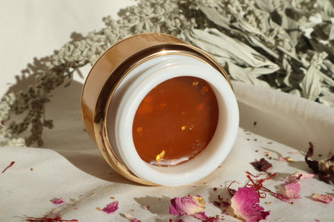 Immortelle~ Rose Gold Glow~ Beauty Balm~ Brightening, Firming, Clarifying, Regenerating
