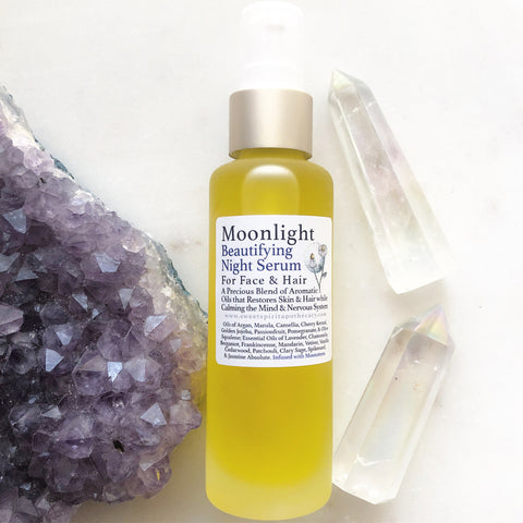Moonlight - Night Serum for face and hair