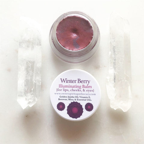 Winter Berry~Illuminating Balm