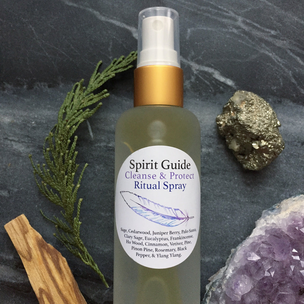 Spirit Guide Ritual Mist-Cleanse and Protect