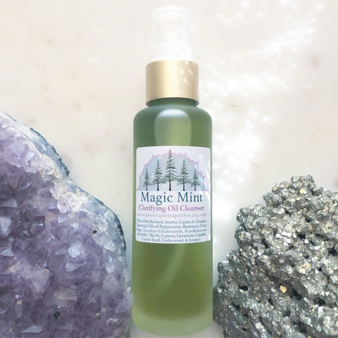 Magic Mint~ Clarifying Cleansing Oil