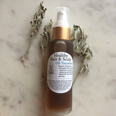 Healthy Hair and Scalp Oil Treatment