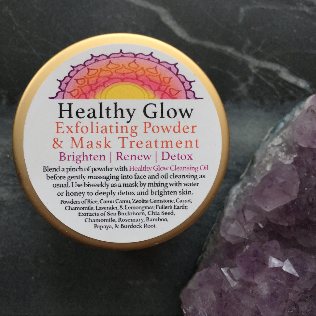 Healthy Glow -Exfoliating Powder and Mask Treatment