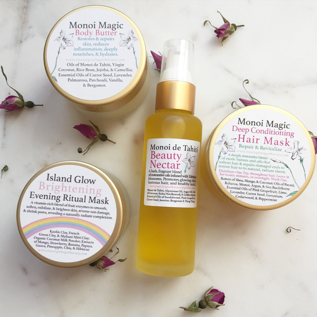 Monoi Magic-Beauty Kit