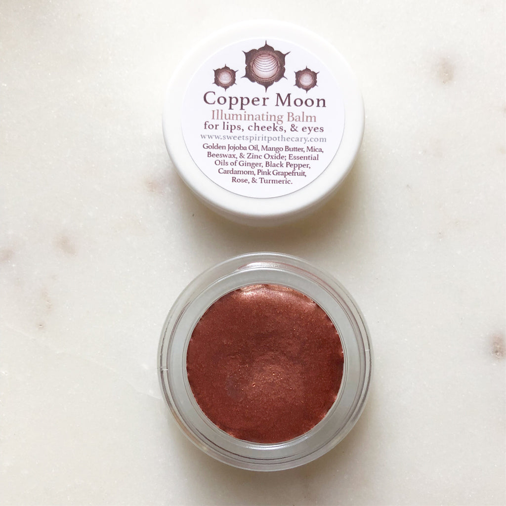 Copper Moon~Illuminating Balm~for lips, cheeks, and eyes