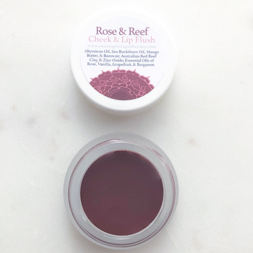 Rose and Reef~Lip and Cheek Flush