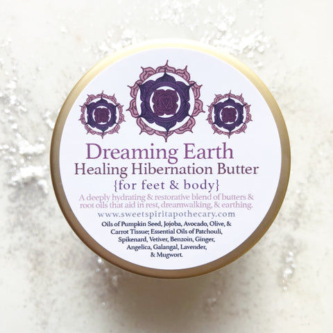 Dreaming Earth~Healing Hibernation Butter~ For Feet and Body