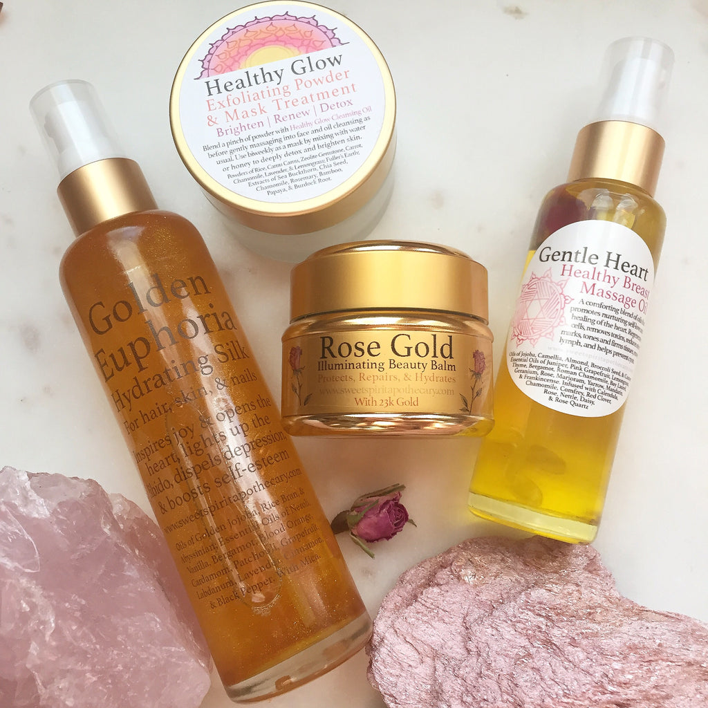 Golden Glow-Love and Beauty Kit