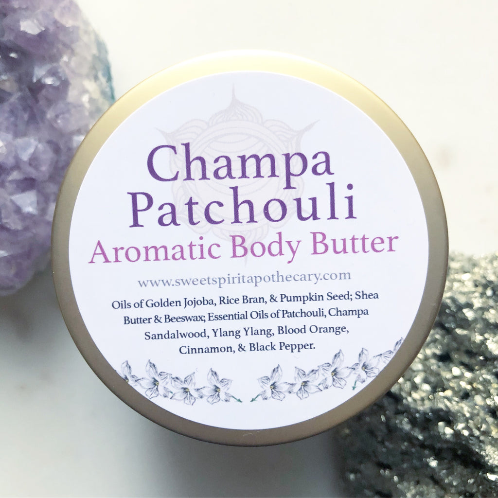 Champa Patchouli ~Aromatic Body Butter
