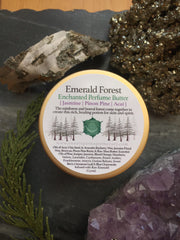 Emerald Forest (Pine and Jasmine)-Enchanted Perfume Butter